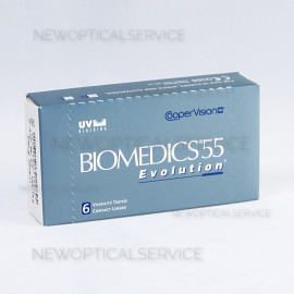 CooperVision Biomedics 55 Evolution 6 pz.