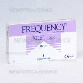 CooperVision FREQUENCY XCEL TORIC 3 pz.