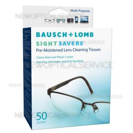 Bausch&Lomb SIGHT SAVERS 50 SALVIETTE