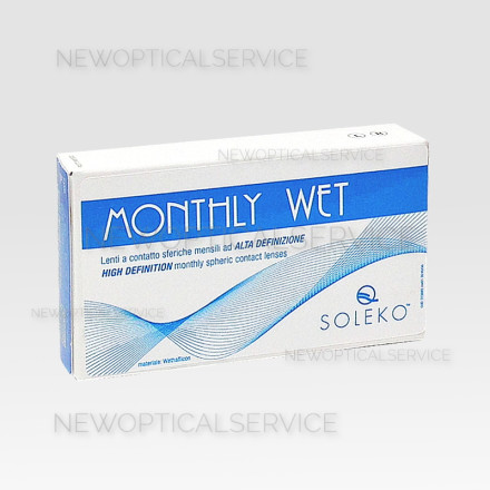 Soleko MONTHLY WET 3 lenti mensili