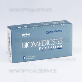 CooperVision Biomedics 55 Evolution 3 pz.