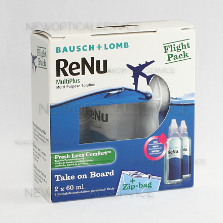 Bausch&Lomb RENU FLIGHT PACK 2x60ml.