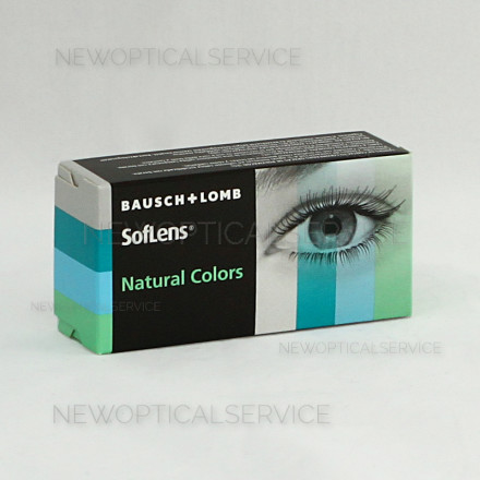 Bausch&Lomb SOFLENS NATURAL COLORS 2pz. PLANO