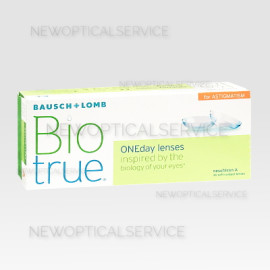 Bausch&Lomb BIOTRUE ONEDAY for astigmatism 30pz.