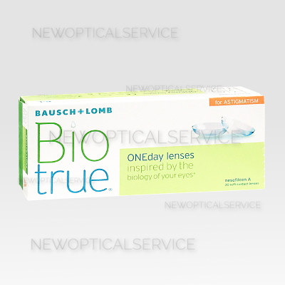 Bausch&Lomb BIOTRUE ONEDAY for astigmatism 30 pz.