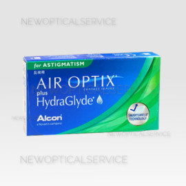 Alcon CibaVision AIR OPTIX for ASTIGMATISM plus Hydraglyde 3 pz.