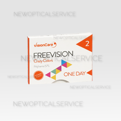 Freevision Crazy Colors 2pz giornaliere > VisionCare